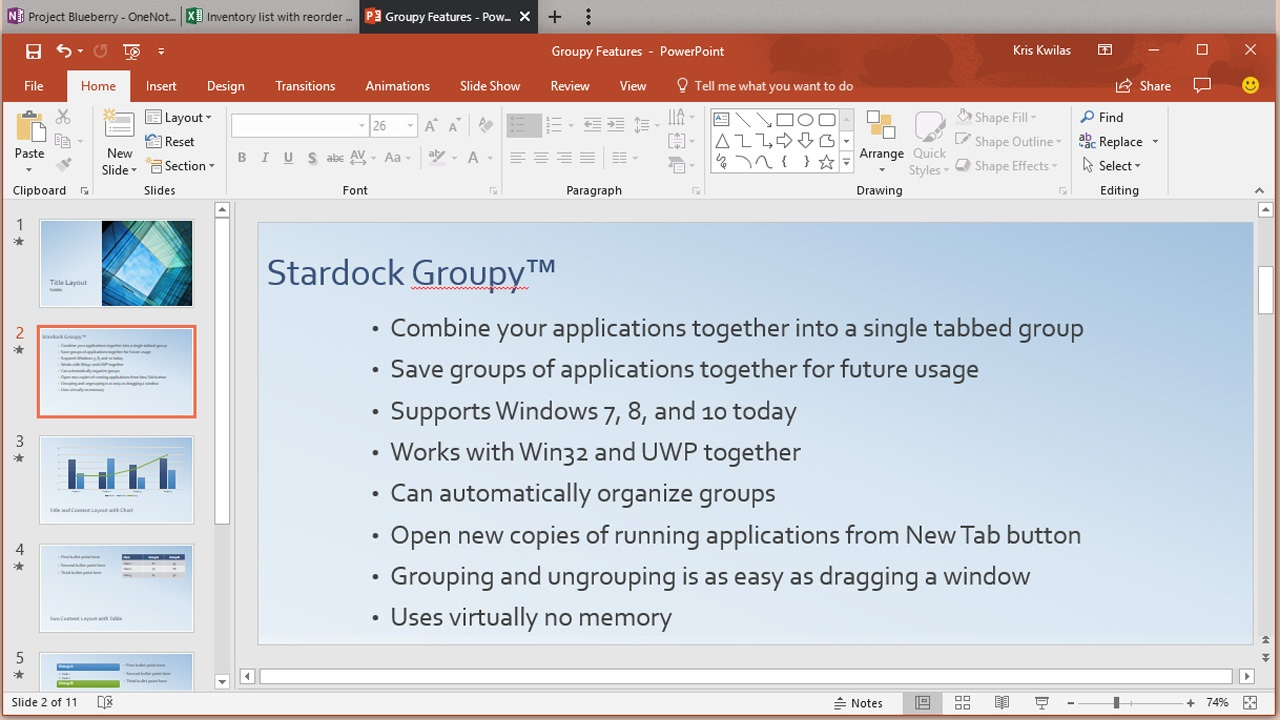Groupy Updates Goes Where Microsoft Fears to Tread