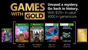 Games with Gold Springs Into April