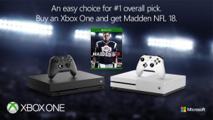 "Buy an Xbox One, Get a Free Copy of ""Madden"""