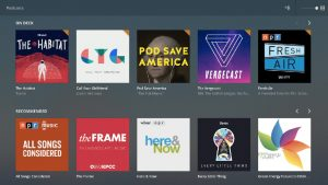 Plex has released a major update to its apps, adding new customization features and podcast support.