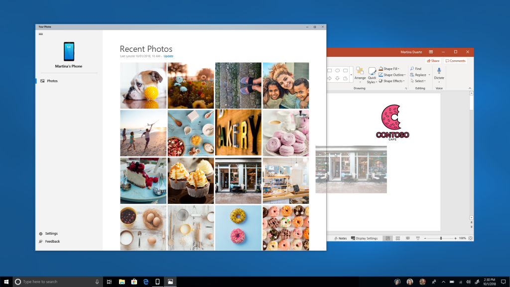 Windows 10's New Your Phone Experience Launches in Redstone