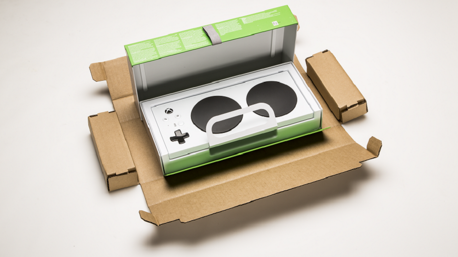 Xbox Adaptive Controller Has Accessible Packaging
