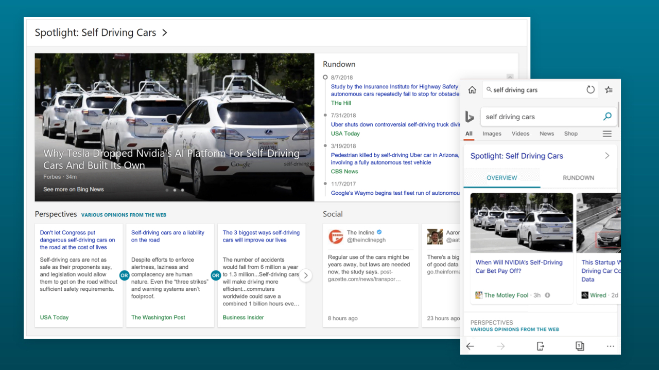 microsoft superpowers bing s news feature with new spotlight