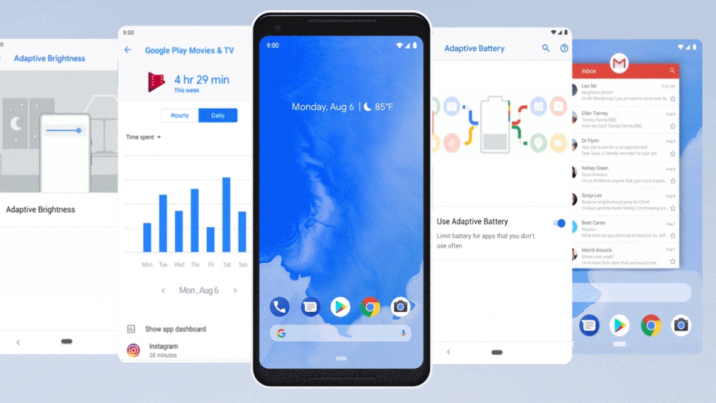 Android 9 'Pie' has officially launched with a focus on artificial intelligence