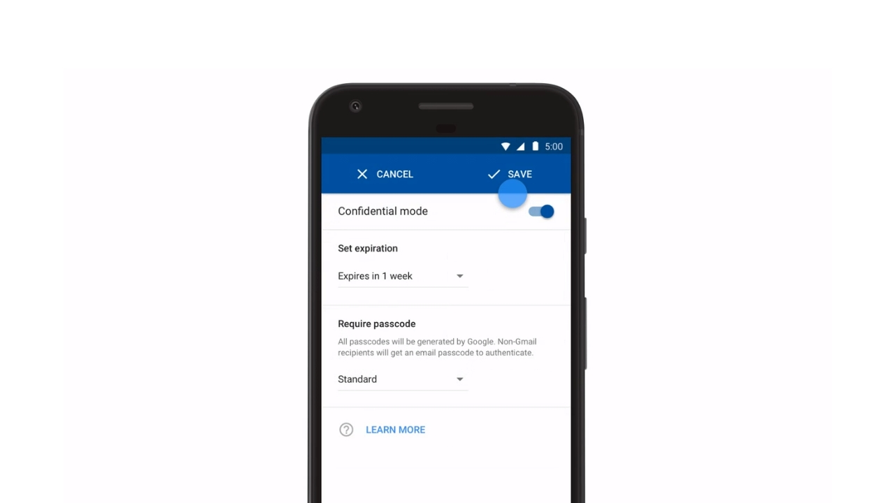 Gmail for Android updated with Confidential mode