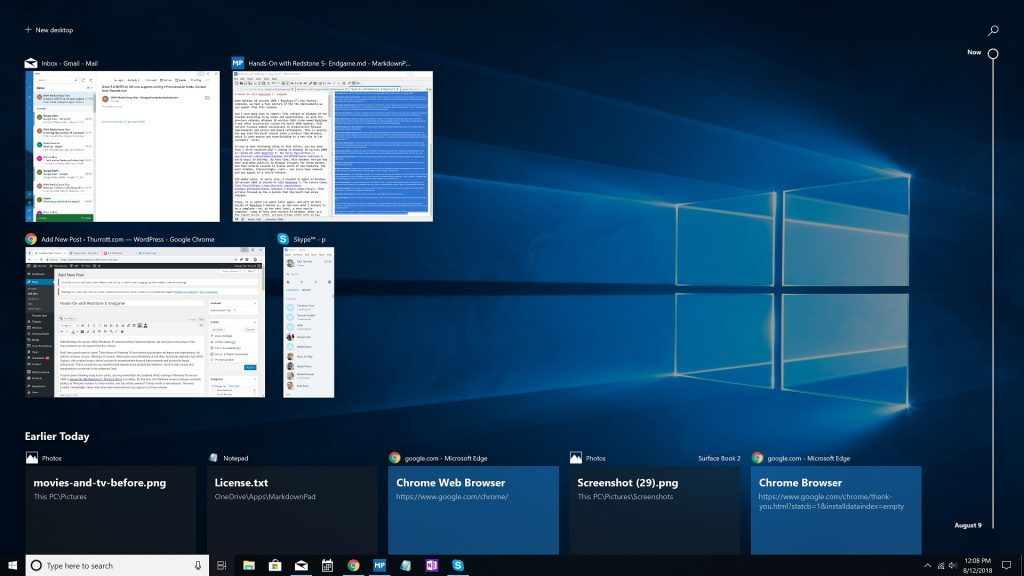 Hands-On with Redstone 5: Endgame - Thurrott com