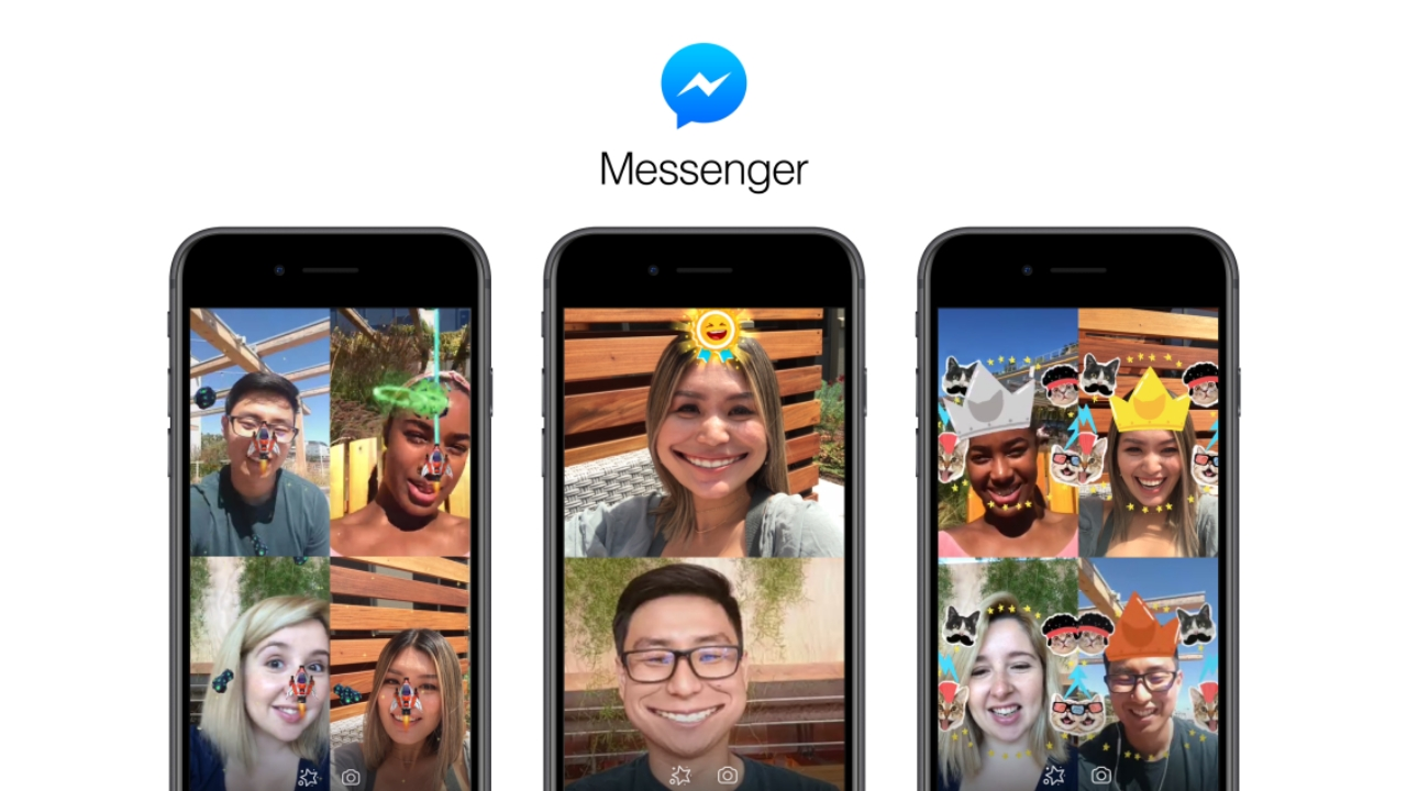 Facebook brings Augmented Reality to Messenger video chat with two new games