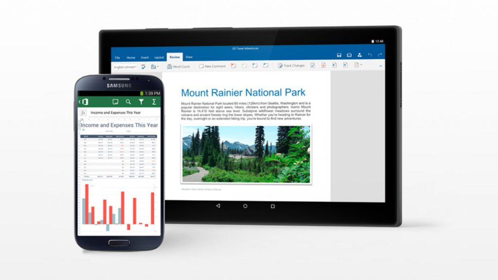 excel and powerpoint mobile each net 500 million downloads on
