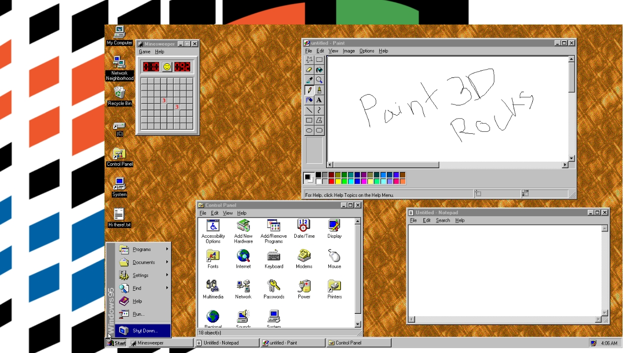Windows 95 Is Now Available As an App  Literally  - Thurrott com