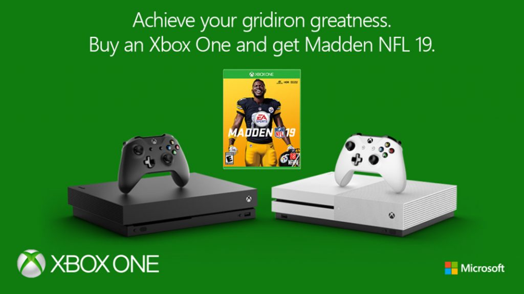 Tip: Buy Any Xbox One, Get a Free Copy of Madden NFL 19