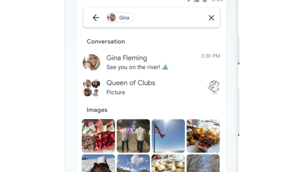 Android Messages gets new search features