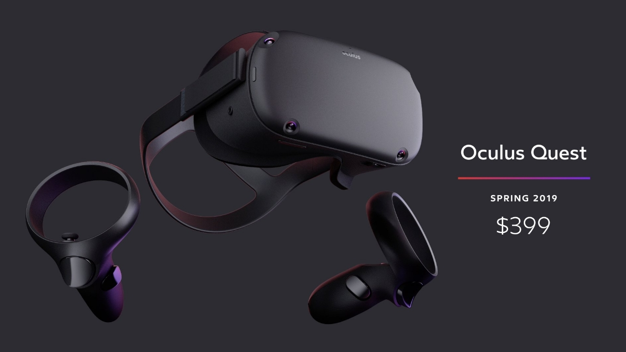 New Oculus Quest wireless VR headset ships in spring for US$399