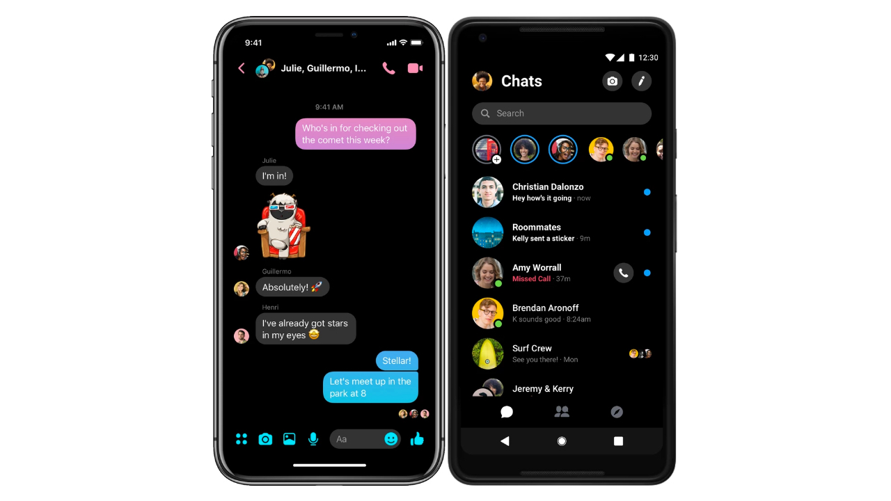Facebook Hits the Reset Button: Redesigns Messenger for