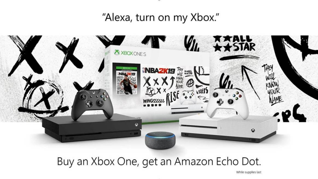 Get a Free Amazon Echo Dot With a New Xbox One - Thurrott com