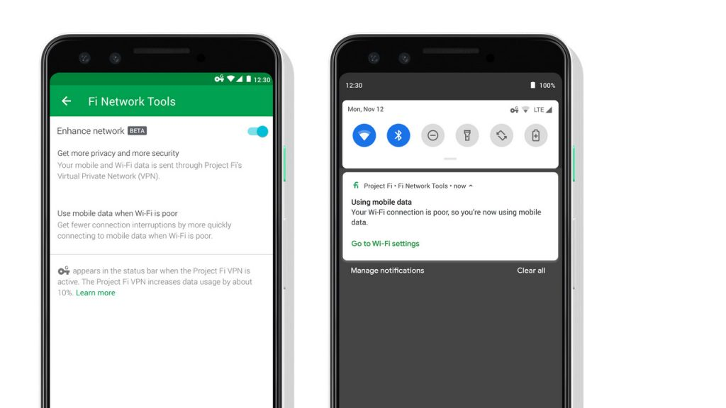 Google Brings Enhanced Network Features to Project Fi