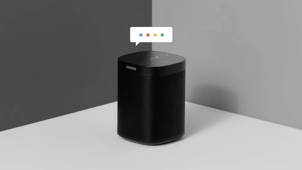 Sonos Can't Figure Out Google Assistant, Delays Integration Until 2019