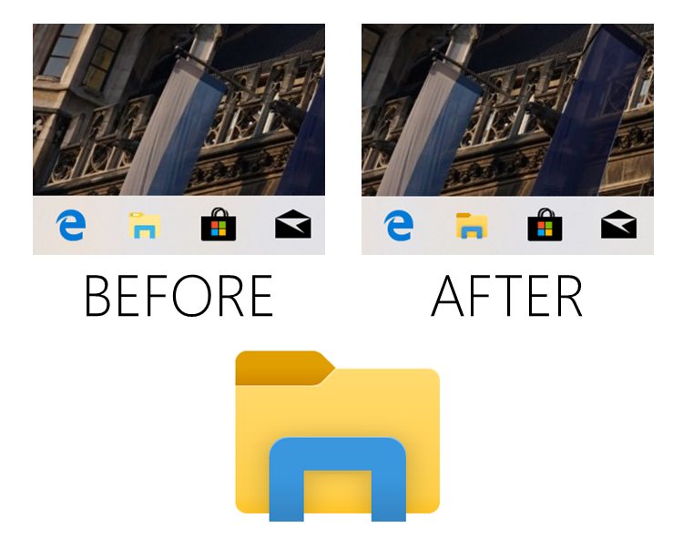 Windows 10 19h1 S Latest Build Introduces Updated File Explorer Icon Console Improvements More