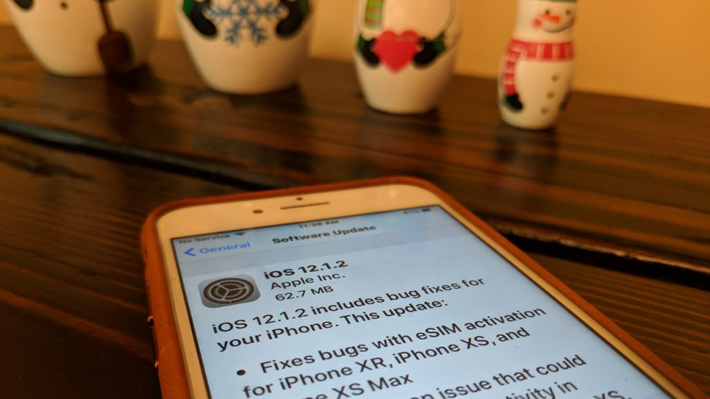 iOS 12.1.12 update in China attempts to address Qualcomm patents