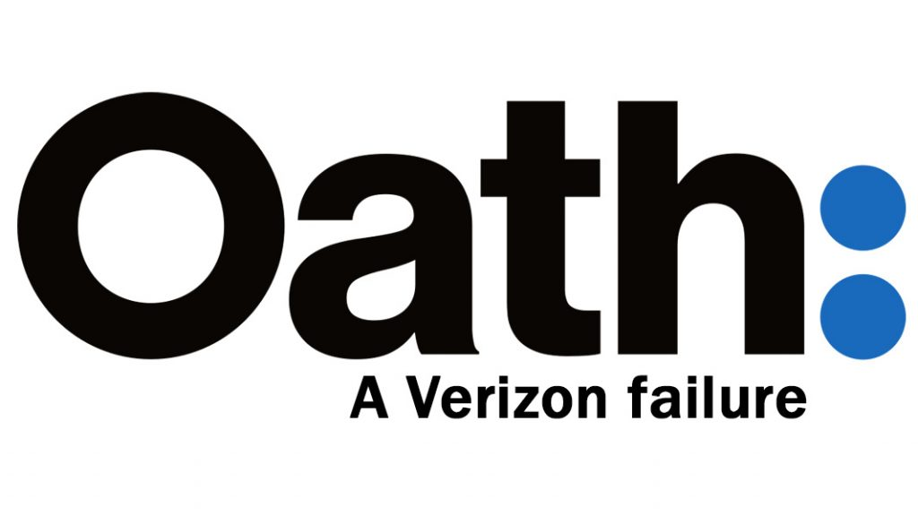 Verizon says its media brand Oath is nearly worthless