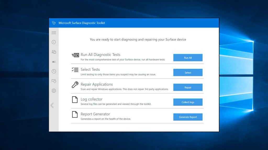 Microsoft Releases Surface Diagnostic Toolkit for Business