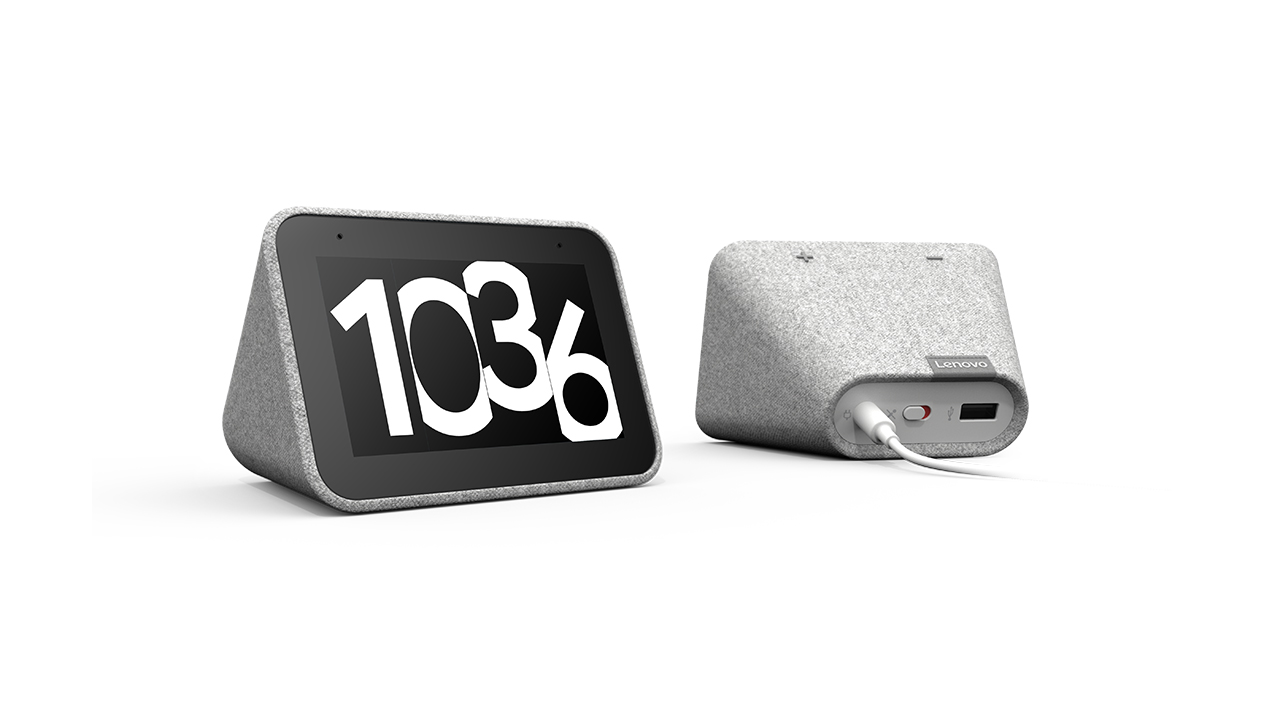 Google and Lenovo Launch a 4-inch Smart Clock Powered by Google