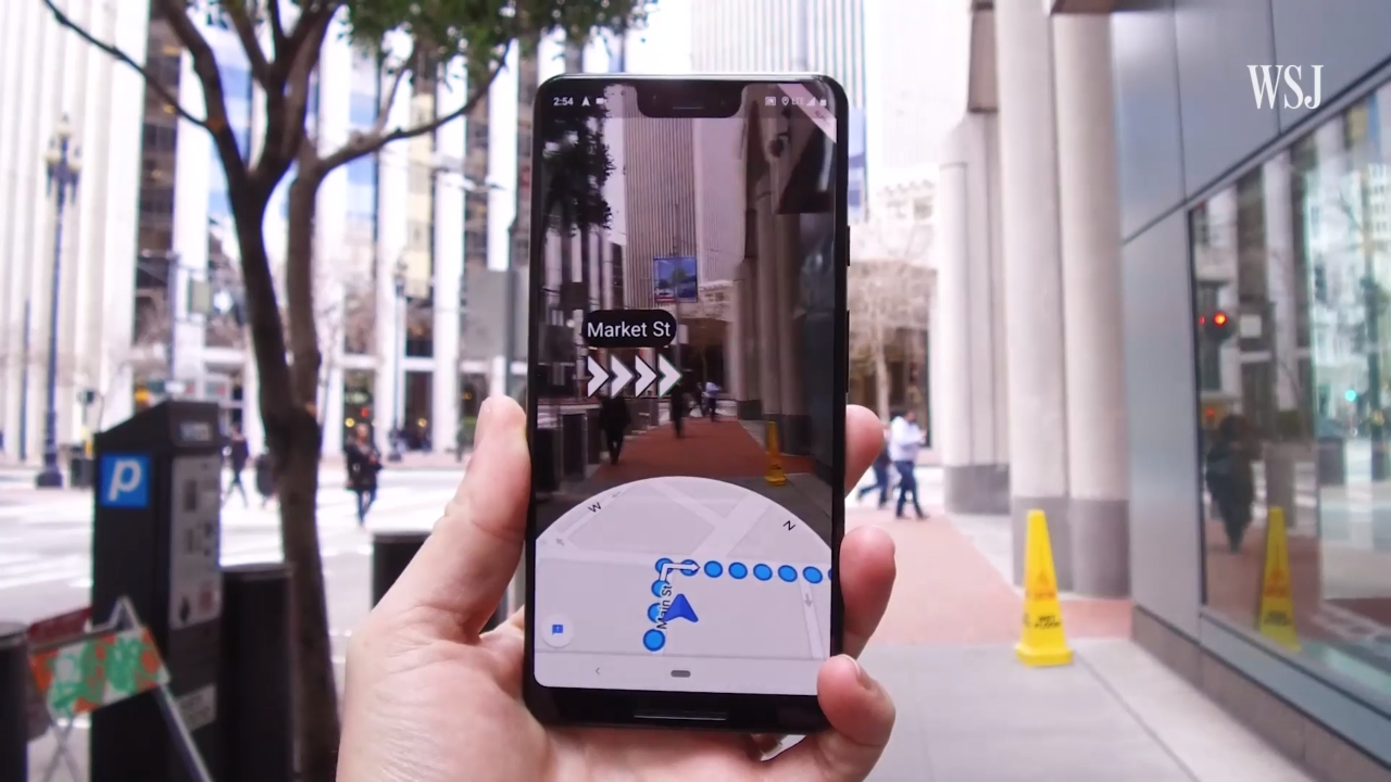 Google Maps tests AR navigation, feature available to limited users