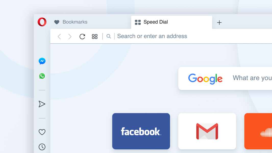 Opera Tips Its Latest Browser Redesign - Thurrott com