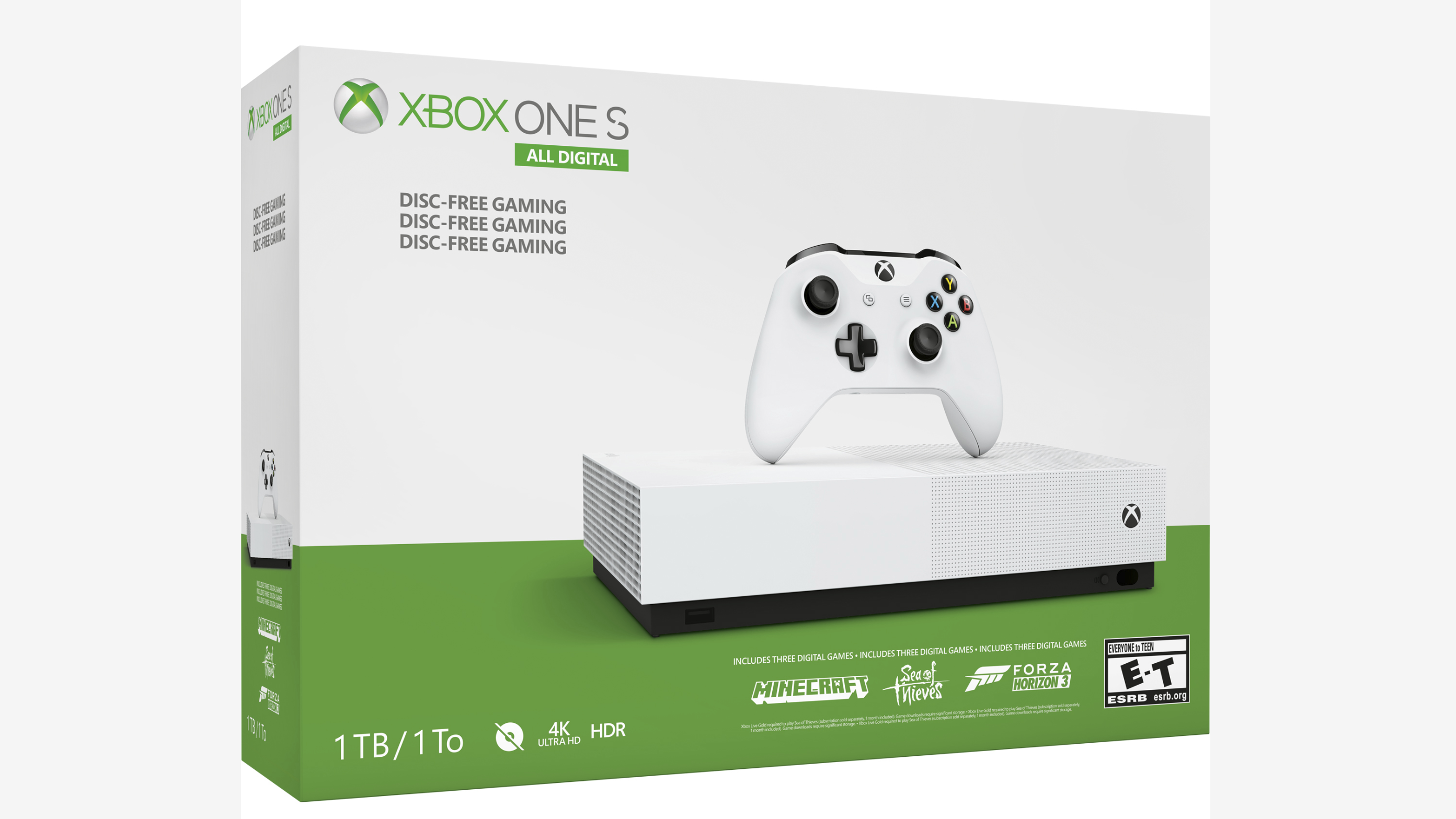 Xbox One S All Digital Editionis Headed To Gamestop