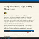 Living on the (New) Edge: Reading