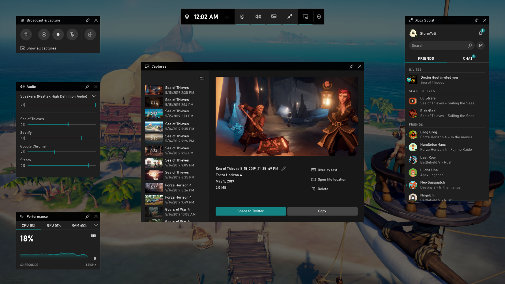 Windows 10's New Game Bar Is Now Available - Thurrott.com