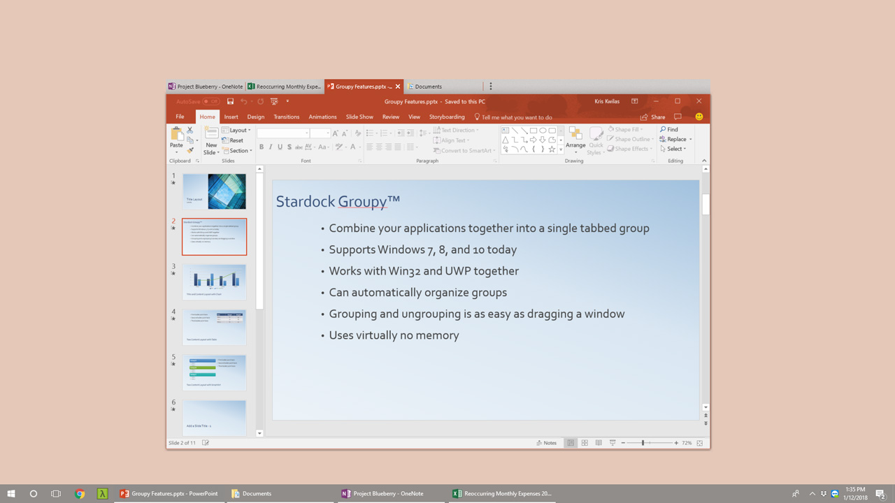 Stardock Delivers Groupy 1 2 for Windows - Thurrott com