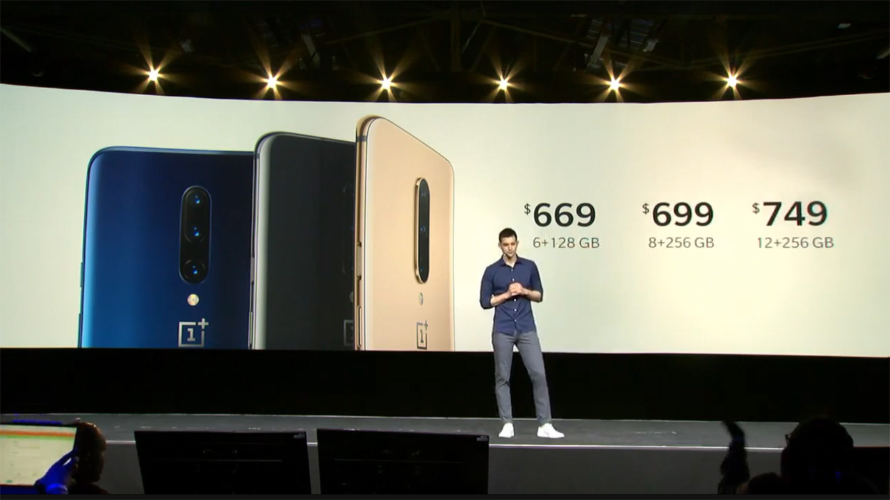 OnePlus 7 Pro Launches in New York - Thurrott com