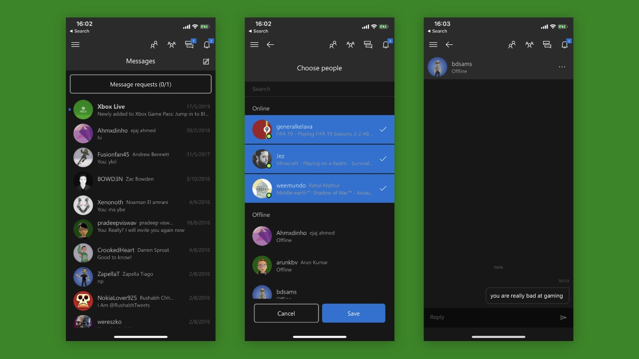 Xbox App Gets New Messaging Experience - Thurrott com