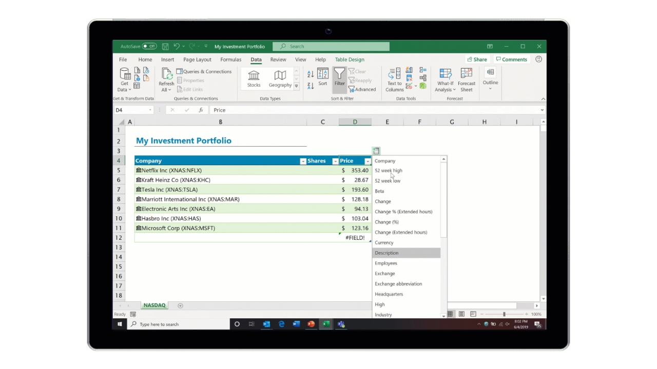 Excel Now Lets You Get Real-Time Stock Data From Nasdaq - Thurrott com