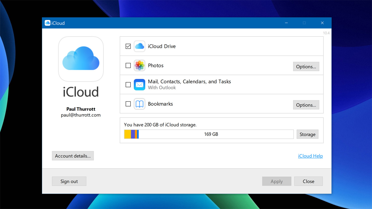 Hands-On with iCloud for Windows 10 - Thurrott com