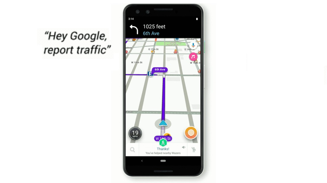 Google Assistant Comes to Waze