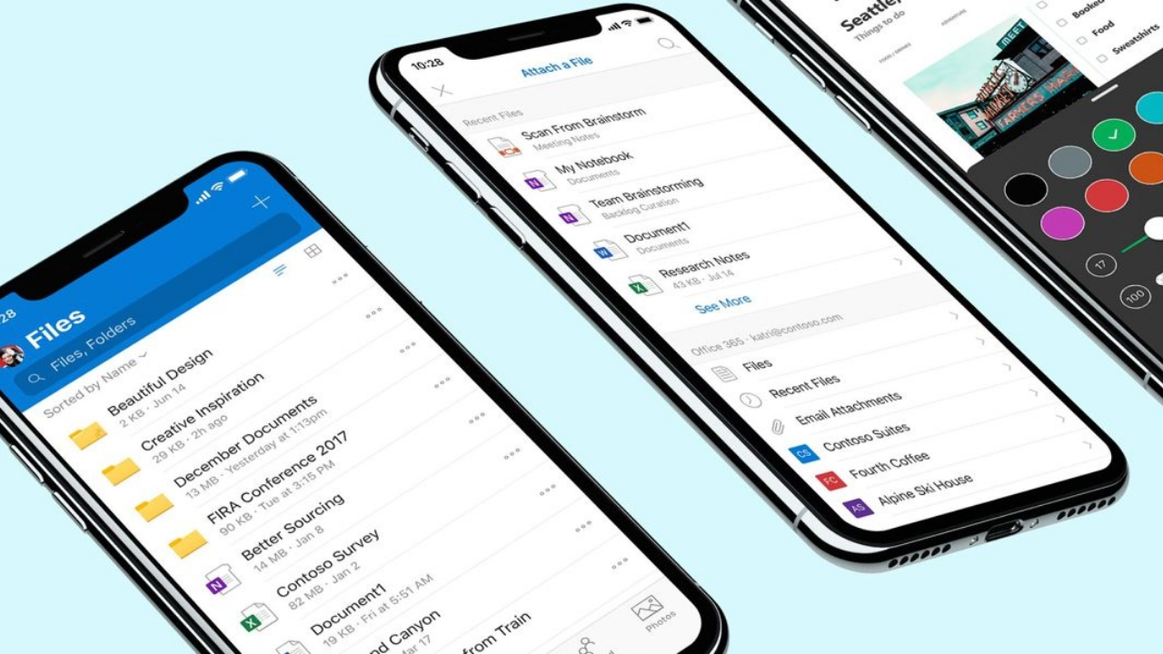 Microsoft Redesigns OneDrive for iOS - Thurrott.com