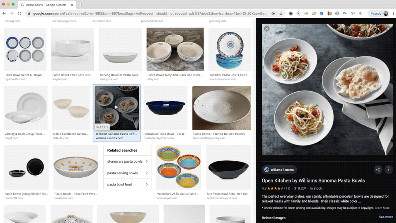 Google Upgrades Google Images to Allow for Quicker Comparisons