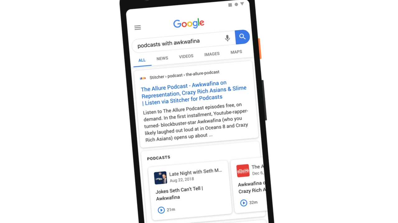 Google Brings Podcasts to Search Results
