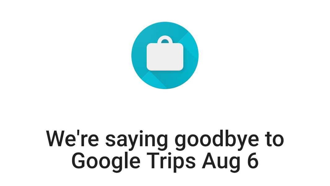 Google shutting down its travel planning app
