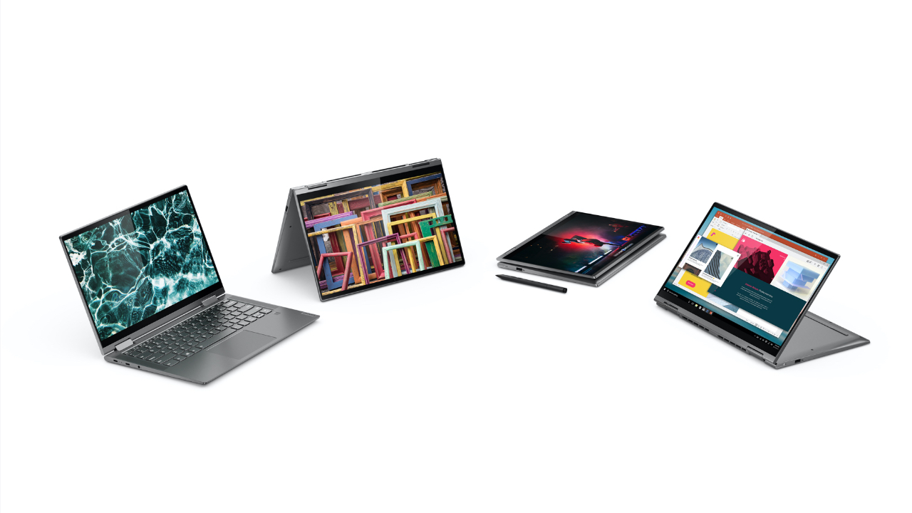 Lenovo Launches Upgraded Yoga Laptops With New Processors