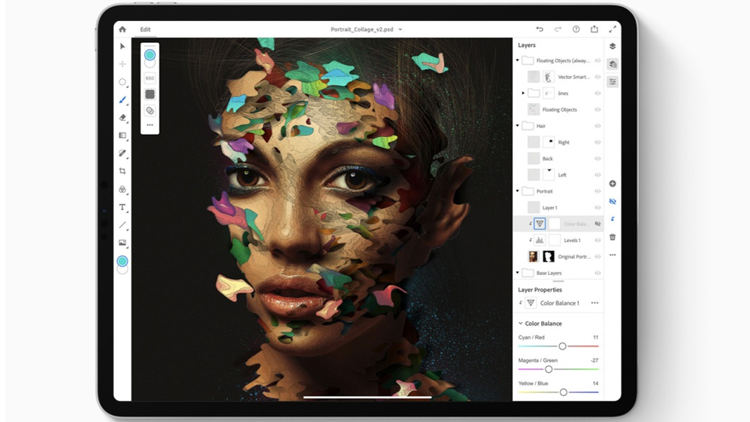Adobe Photoshop For Ipad Is Almost Ready Thurrott Com It was originally created in 1988 by thomas and john knoll. adobe photoshop for ipad is almost