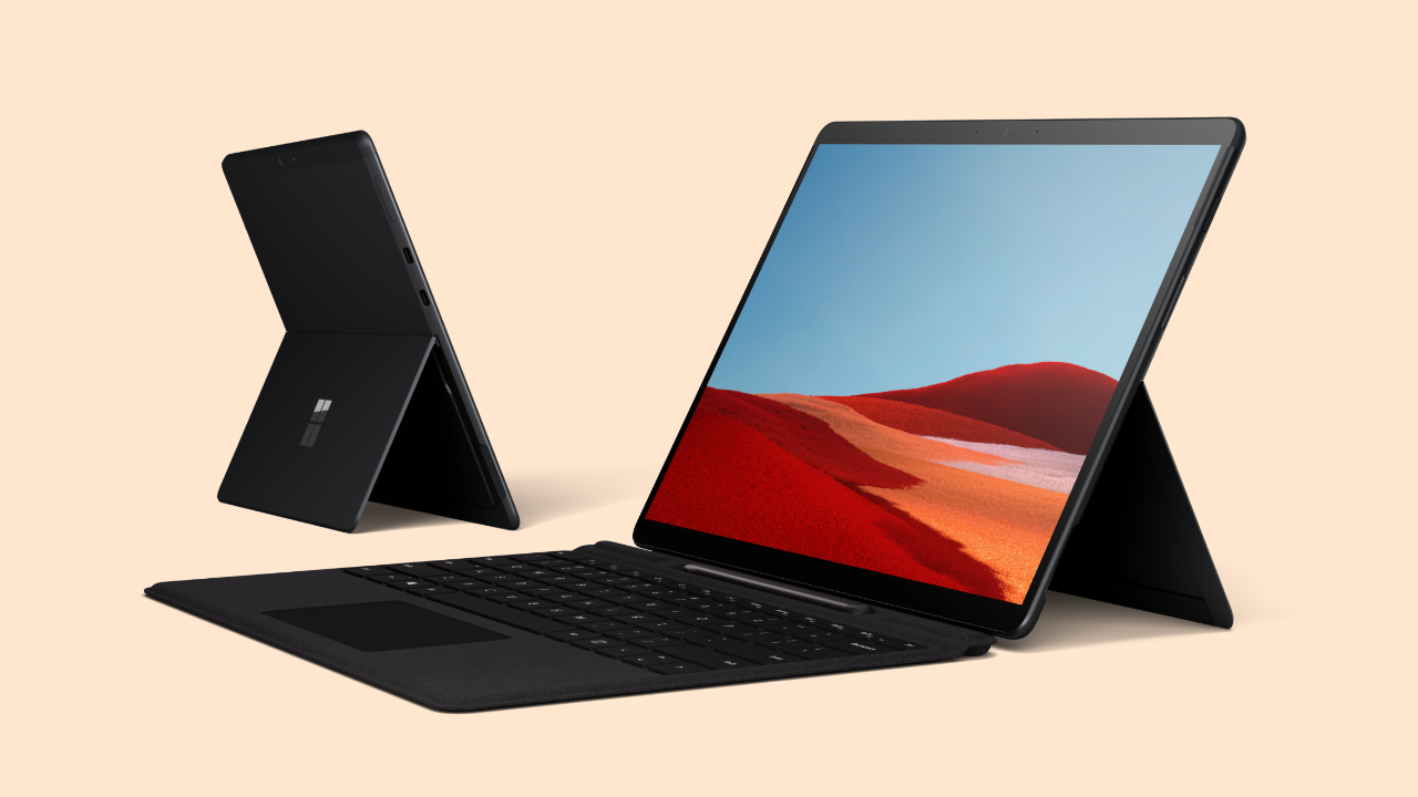 Www Pro Design Com microsoft launches surface pro x with new ultra-thin design