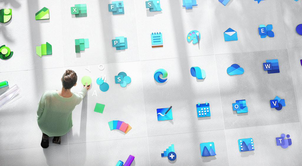 Microsoft has redesigned over 100 Windows icons