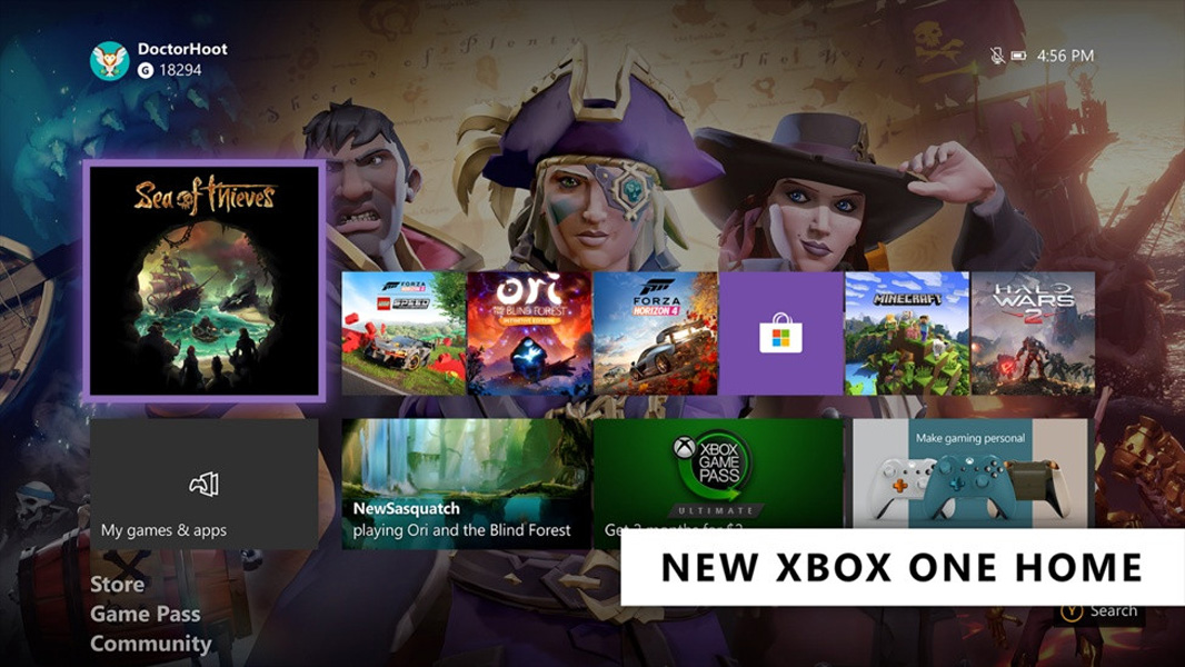 Xbox One Home Design Is Now Live