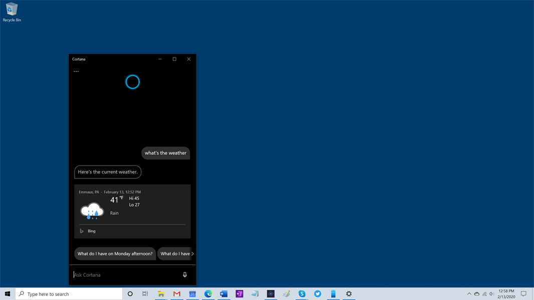 What's New in Windows 10 Version 2004 - Thurrott.com