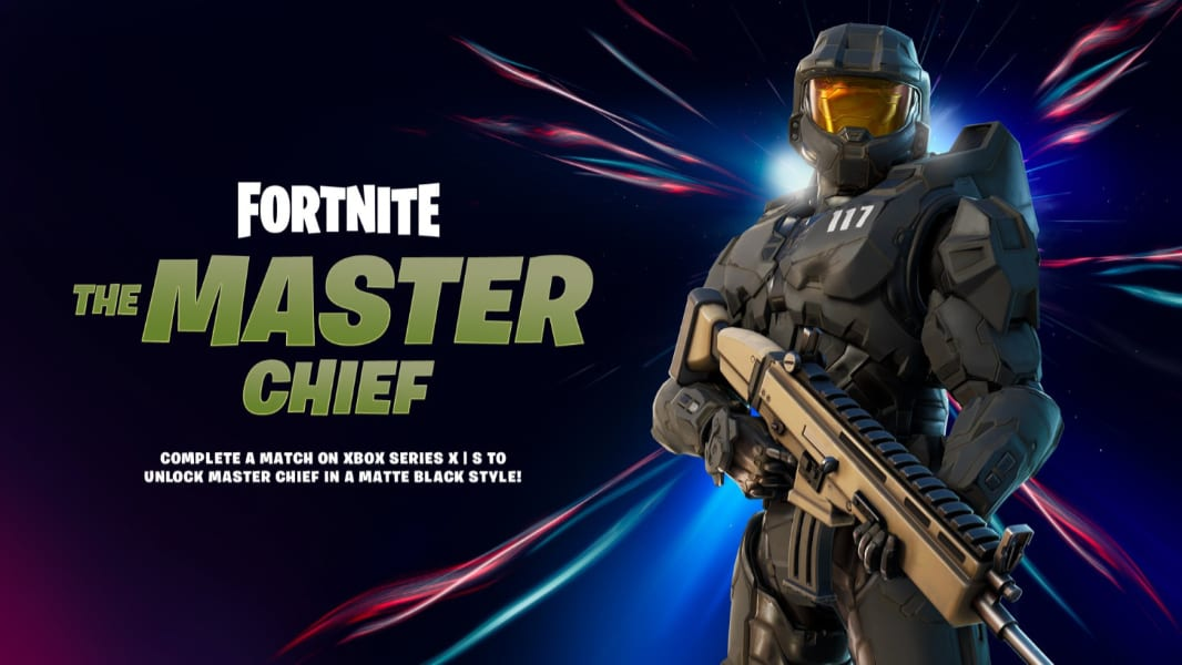 Fortnite Officially Recruits Halos Master Chief For Season 5