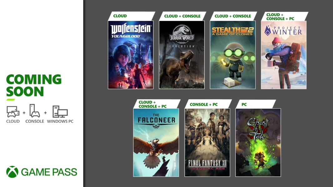 Xbox Game Pass adds Wolfenstein, The Falconeer, and more this month