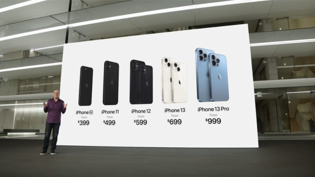 Apple Announces iPhone 13, Watch Series 7, New iPads